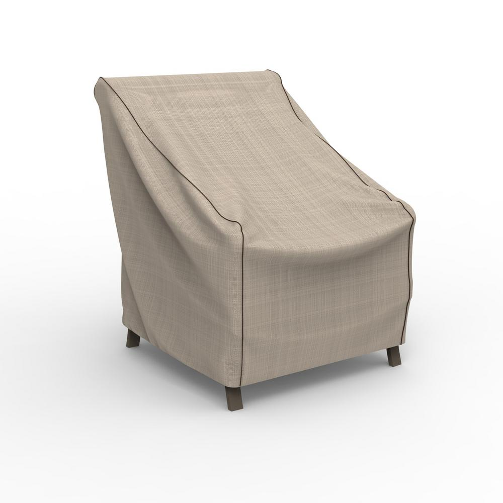 Budge English Garden Small Patio Chair Covers - Budge English Garden Small Patio Chair Covers-P1A03PM1 - The Home Depot