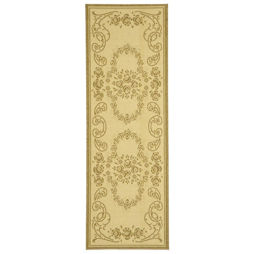 Courtyard Natural/Brown 2 ft. 3 in. x 6 ft. 7 in.