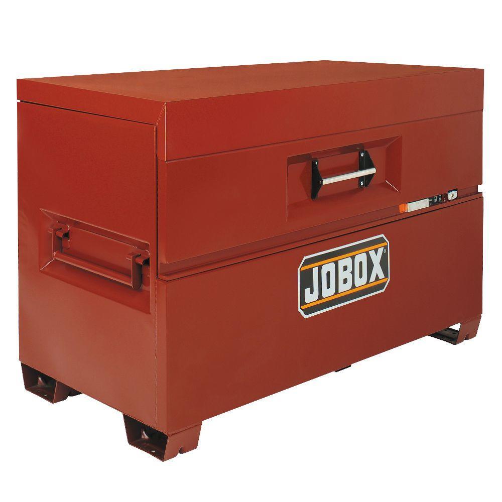 Jobox Brown Secured Trunk