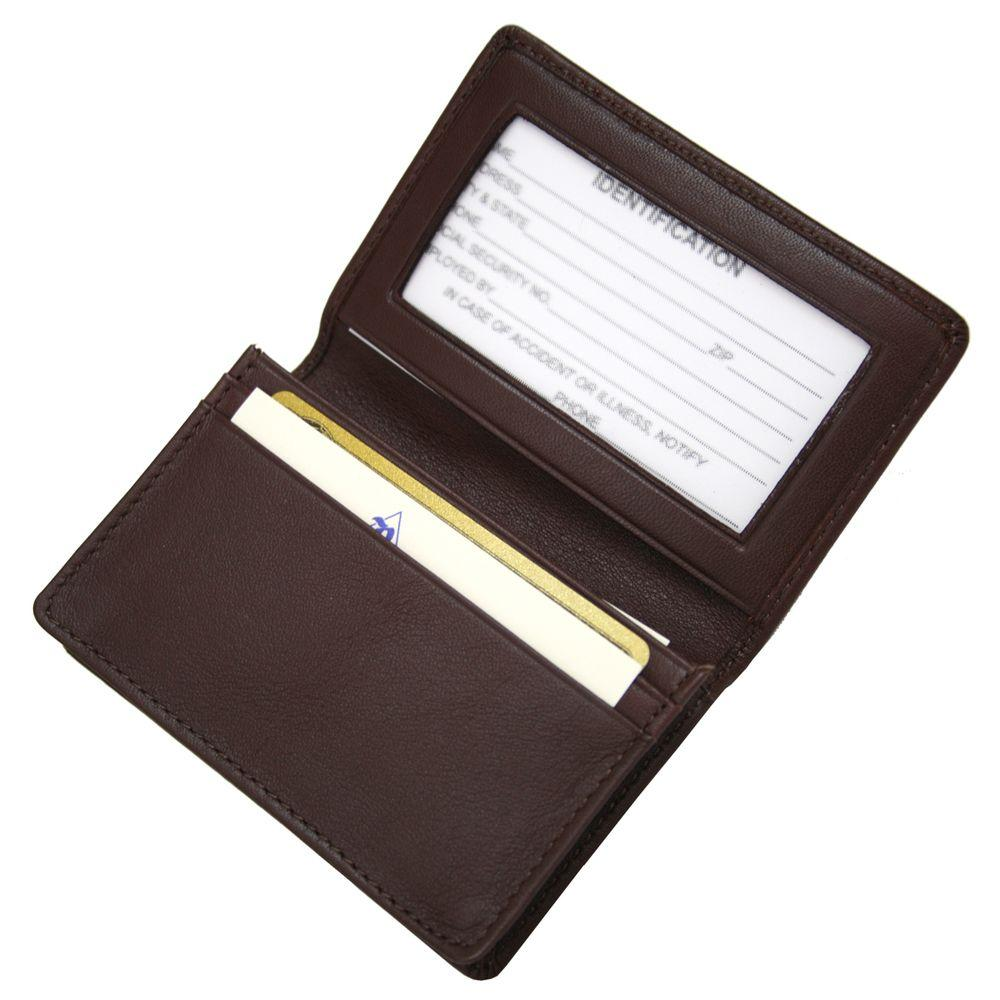 Royce executive business card case in genuine leather 405 burgundy 5 royce executive business card case in genuine leather colourmoves