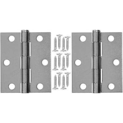 3 in. x 25 in. Steel Hinge (1-Pair)