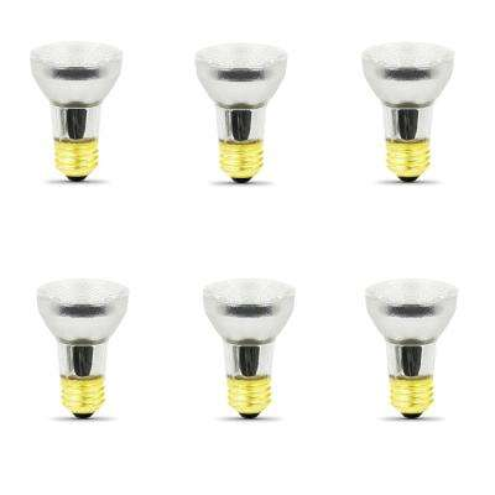60-Watt Soft White (3000K) PAR16 Dimmable Halogen 120-Volt Light Bulb (6-Pack)
