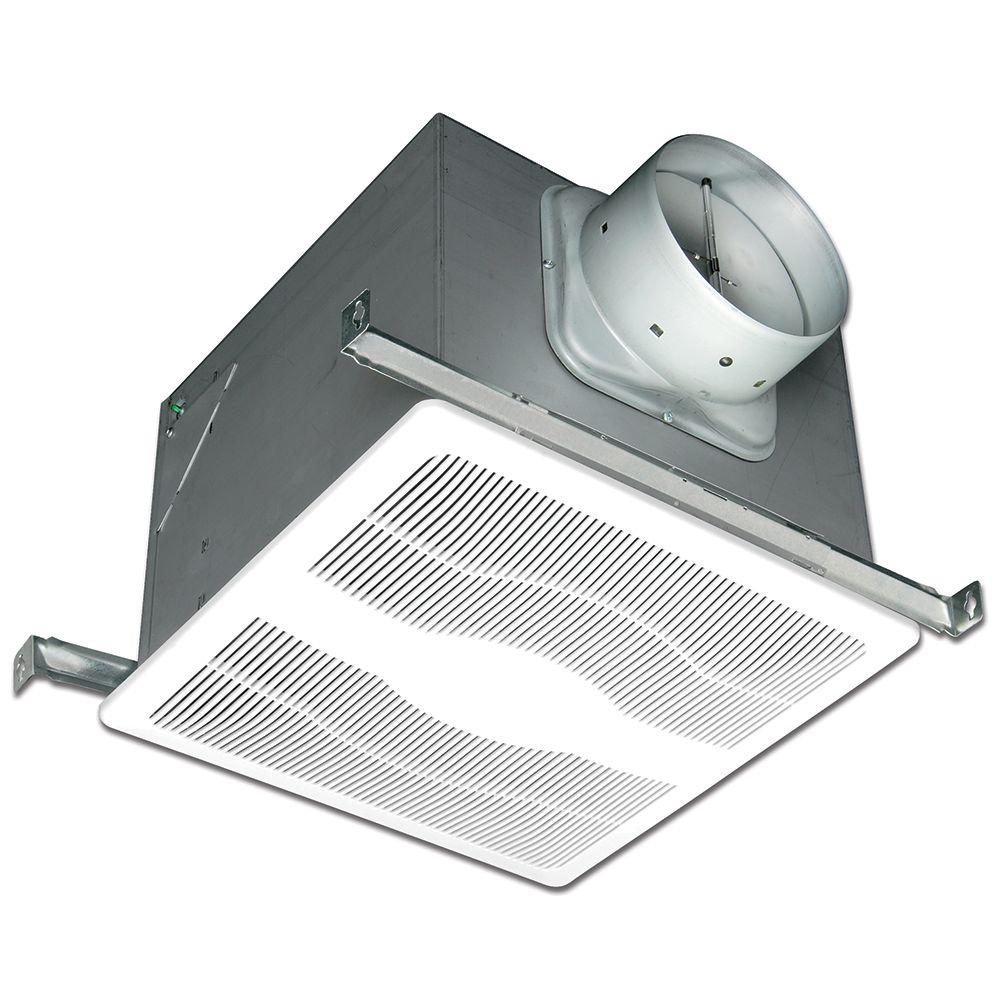 Hampton Bay CFM Ceiling Humidity Sensing Bathroom Exhaust Fan - Bathroom exhaust fan with pull chain for bathroom decor ideas