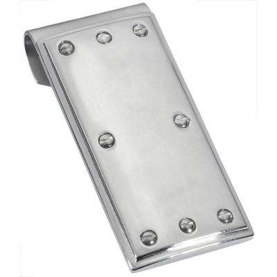 Leo Polished Stainless Steel Money Clip