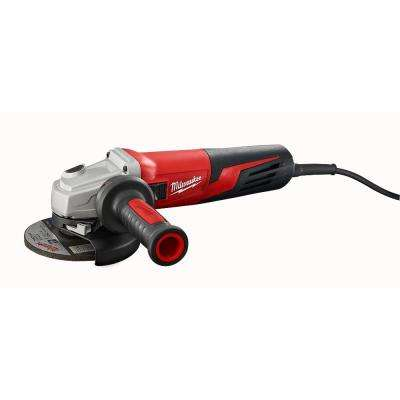 13 Amp 5 in. Small Angle Grinder with Lock-On Slide Switch