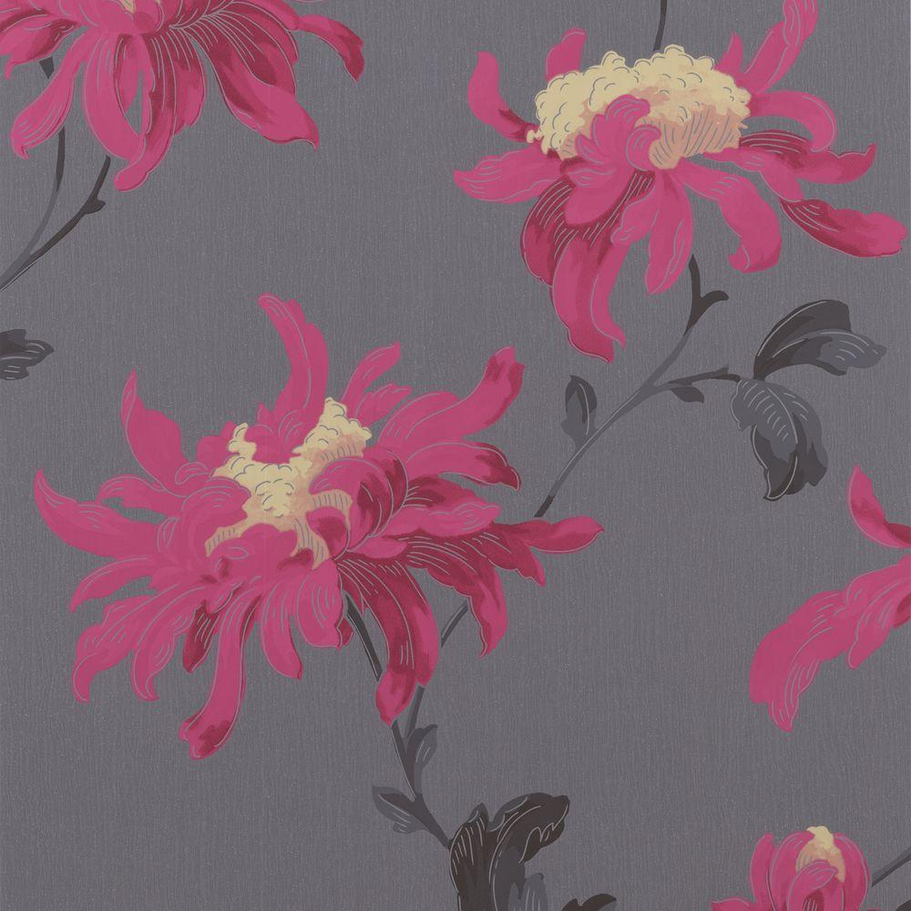 Graham & Brown 56 sq. ft. Fabulous Pink Wallpaper