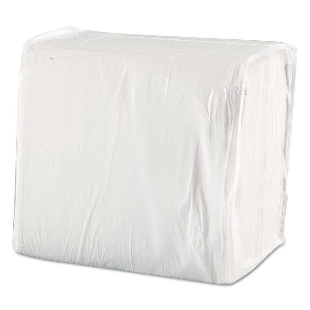 Morsoft Dinner Napkins, 1-Ply, 15 in. x 17 in., White, 250/Pack, 12 Packs/Carton