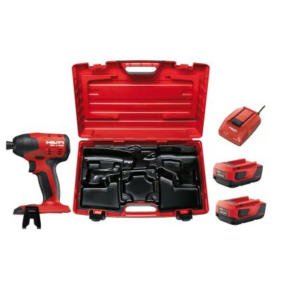 22-Volt Lithium-Ion 1/4 in. Hex Cordless Brushless SID 4 Impact Driver with 3 gear speed and Case