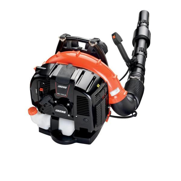ECHO 214 MPH 535 CFM 63.3 cc Gas 2-Stroke Cycle Backpack Leaf Blower with Tube Throttle