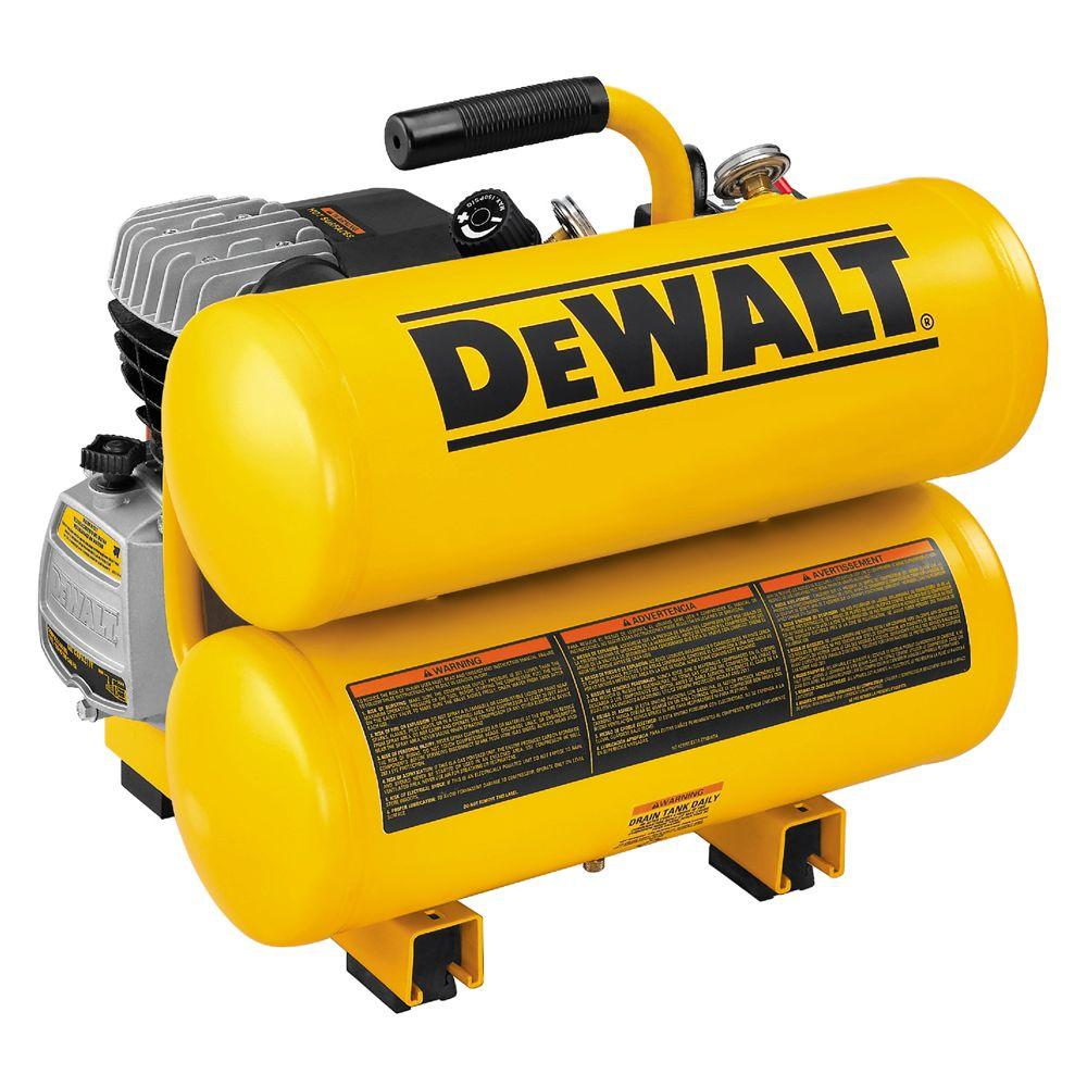 Dewalt 4 Gal. Portable Electric Air Compressor