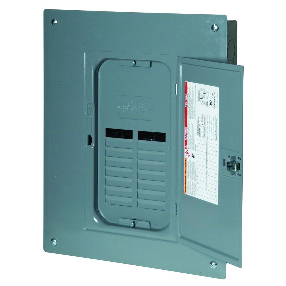 Square D Qo 125 Amp 12 Space 24 Circuit Indoor Main Lug Load Center