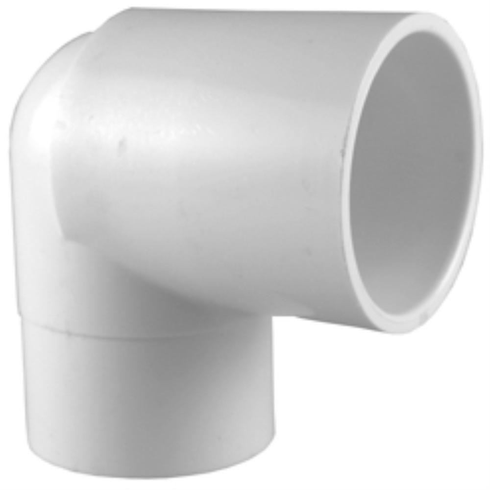 2 in. PVC Schedule. 40 90-Degree Spigot x S Street Elbow Fitting