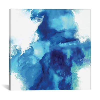 """Ascending In Blue I"" by Daniela Hudson Canvas Wall Art"