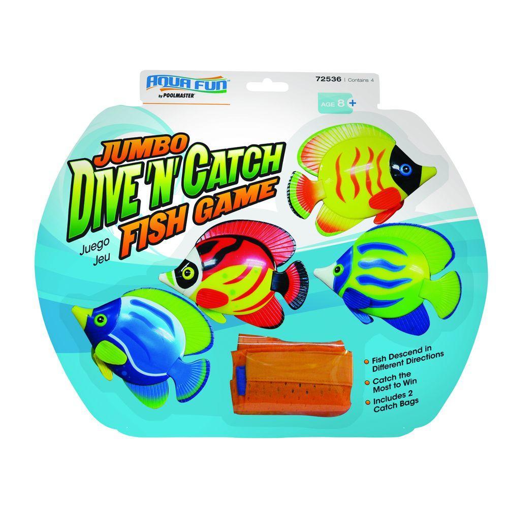 Poolmaster Jumbo Dive n Catch Fish Pool Game by Poolmaster