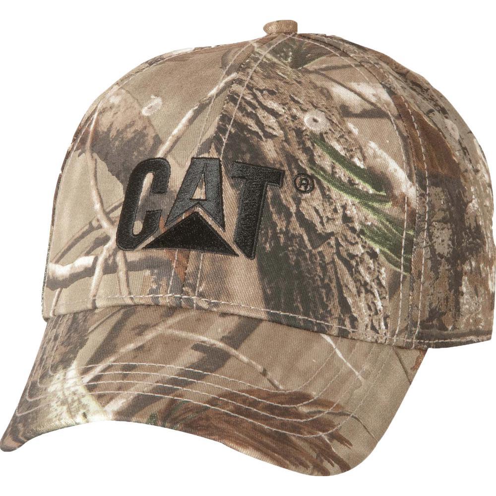 d96f042e Caterpillar Trademark Men's One Size Realtree Xtra Camo Cotton Canvas Cap  Headwear-W01791-10520-OS - The Home Depot