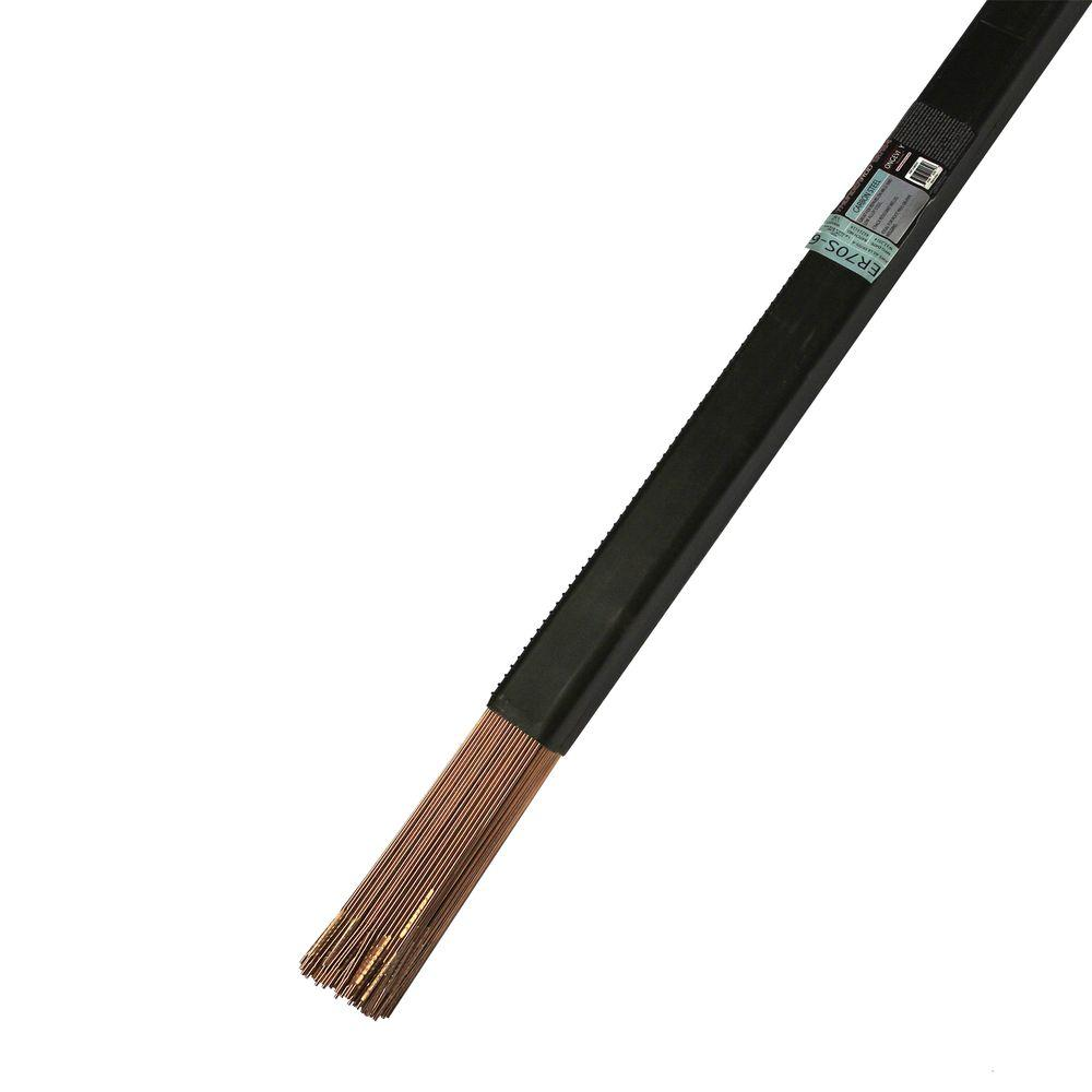 Longevity 1/16 in. 11 lb. Thunder Rod ER70S-6 Tig Filler Wire-880347 ...
