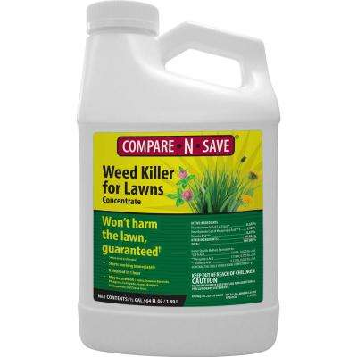 64 oz. Weed Killer for Lawns Concentrate Liquid Herbicide