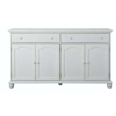 Merveilleux Harwick Antique White Buffet