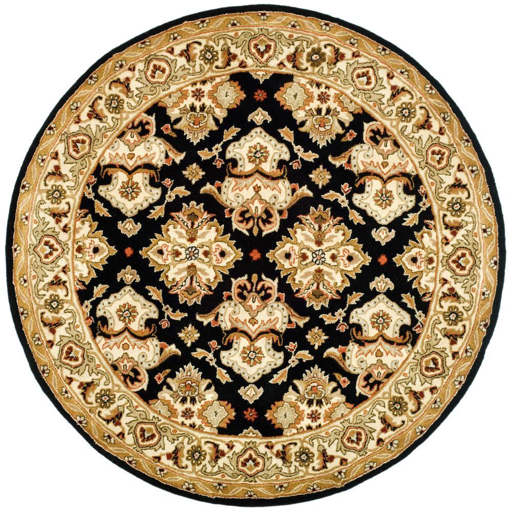 Safavieh Heritage Black Ivory 4 Ft X