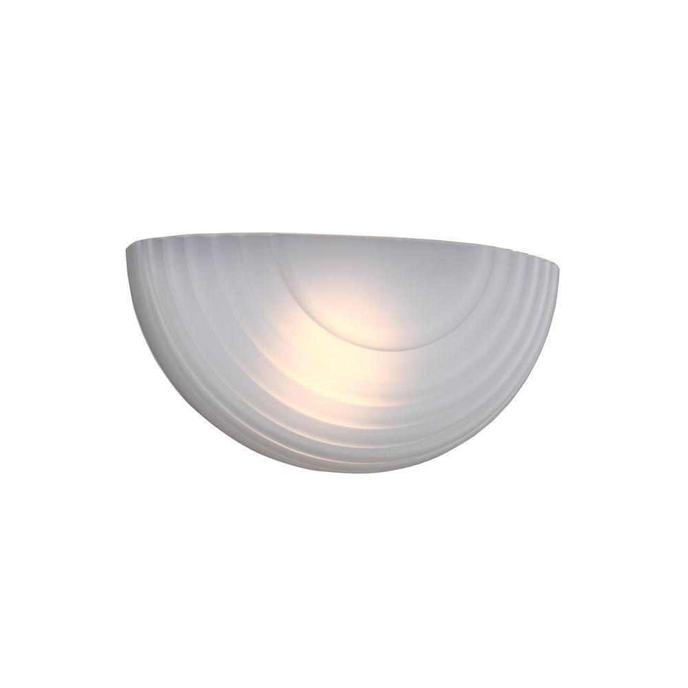 Sea Gull Lighting Decorative Wall Sconce 1-Light LED White Wall Sconce  sc 1 st  The Home Depot & Sea Gull Lighting Decorative Wall Sconce 1-Light LED White Wall ...
