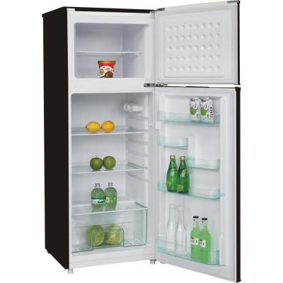 7.5 cu. ft. Refrigerator with Top Freezer in Stainless Look