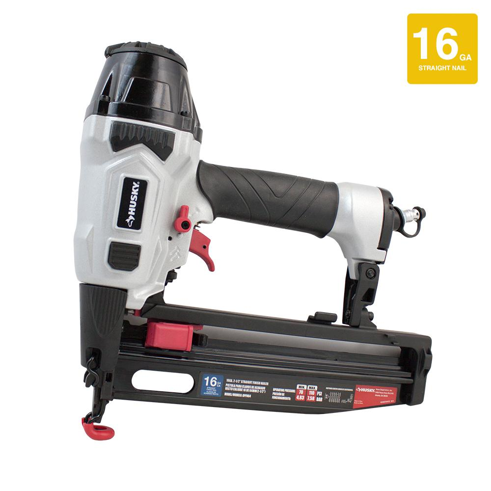 Husky - Finishing Nailers - Nail Guns & Pneumatic Staple Guns - The ...