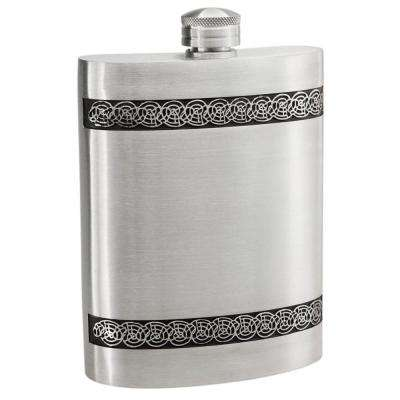 6 oz. Seville Pewter Liquor Flask
