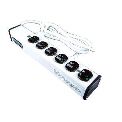 6-Outlet 15-Amp Special Use Hospital Grade Power Strip, 15 ft. Cord