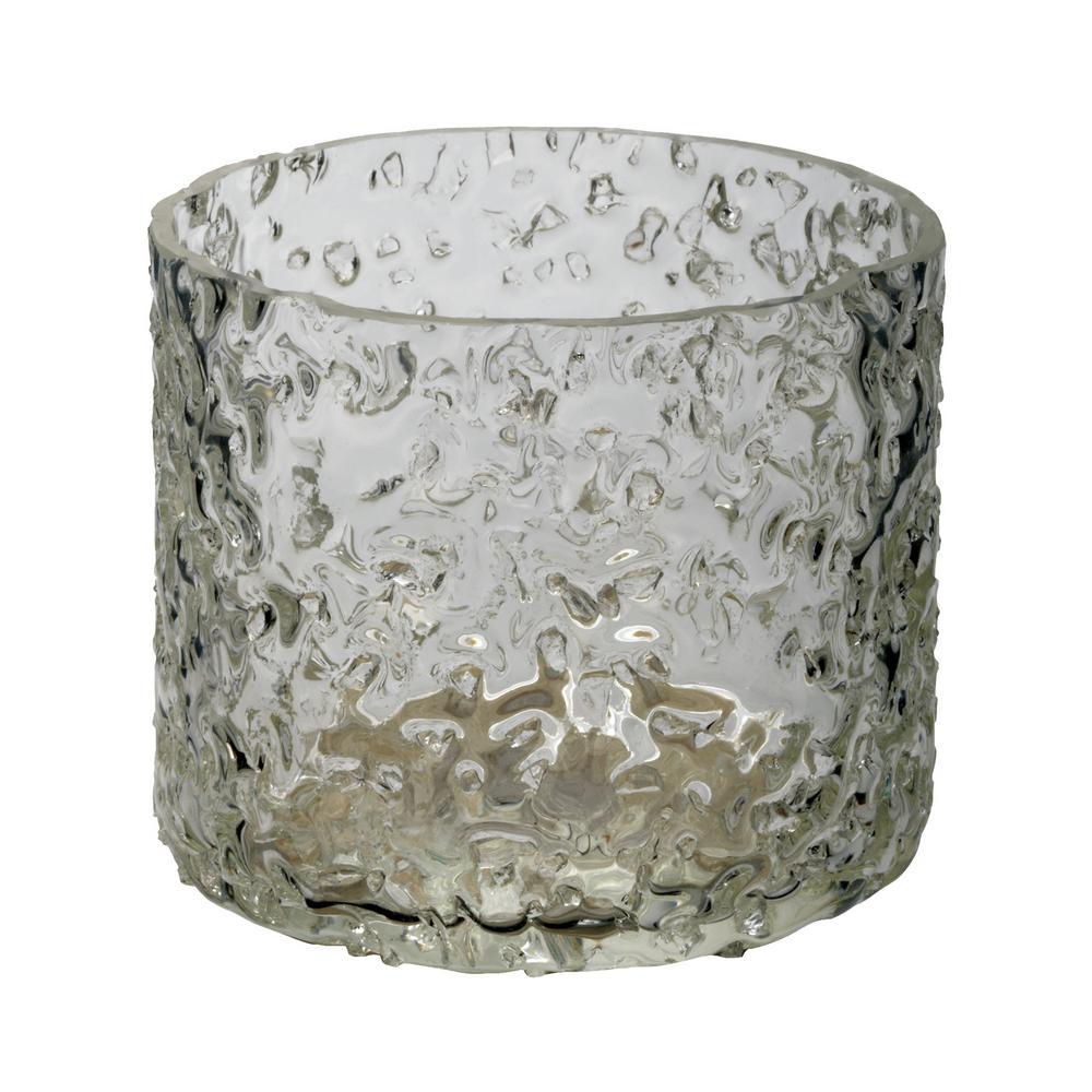3 in. Ice Rock Salt Votive Candle Holder