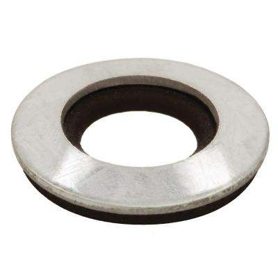 3/8 in. x 1/2 in. Galvanized Bonded Sealing Washer (4-Piece)