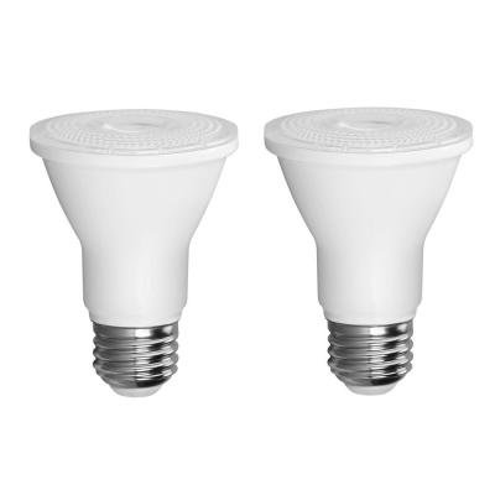 50-Watt Equivalent PAR20 Dimmable LED Light Bulb (2-Pack)