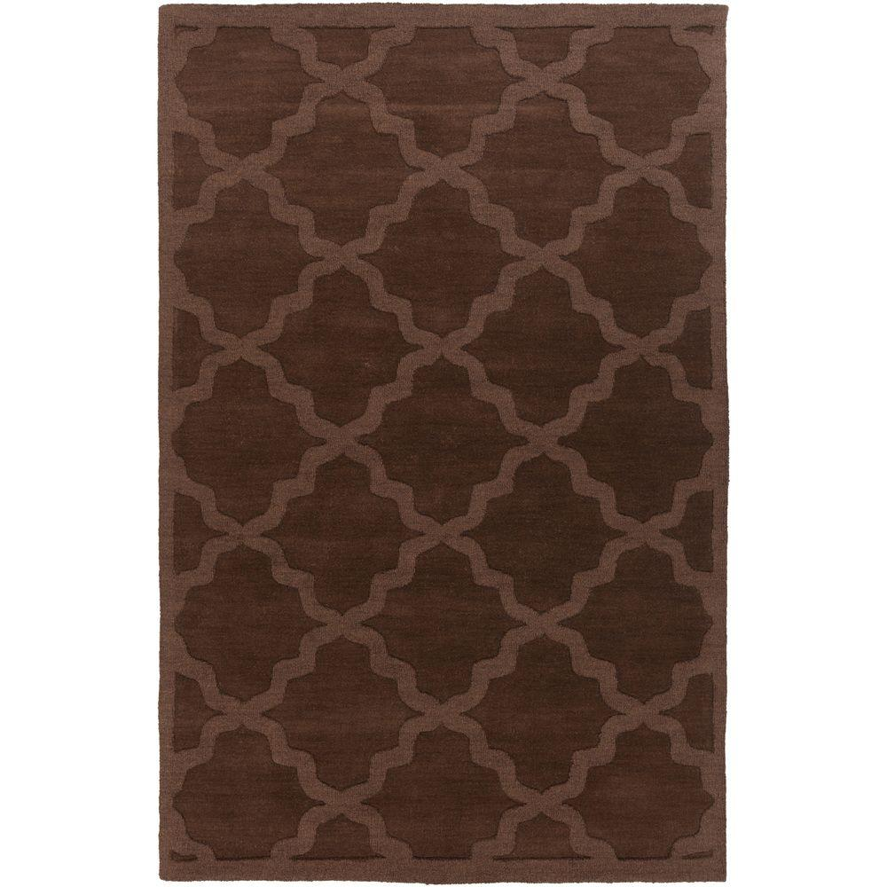 Central Park Abbey Chocolate 2 ft. x 3 ft. Indoor Accent