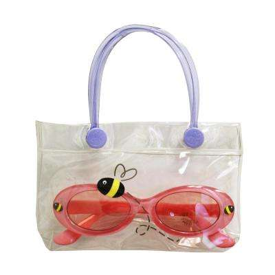 Kids Bee Sun Glasses with a Convenient Carrying Case