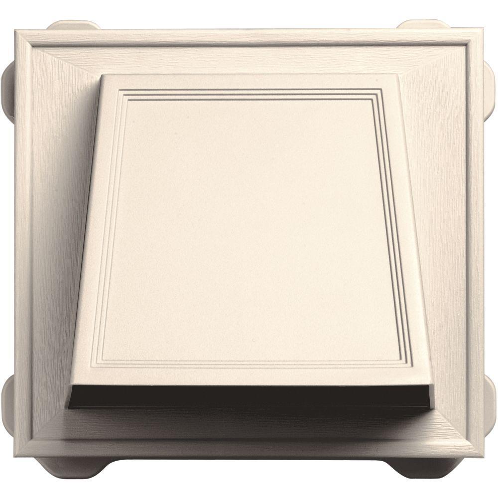 6 in. Hooded Siding Vent #021-Sandstone Beige