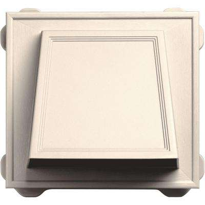 6 in. Hooded Siding Vent #021-Sandstone Beige