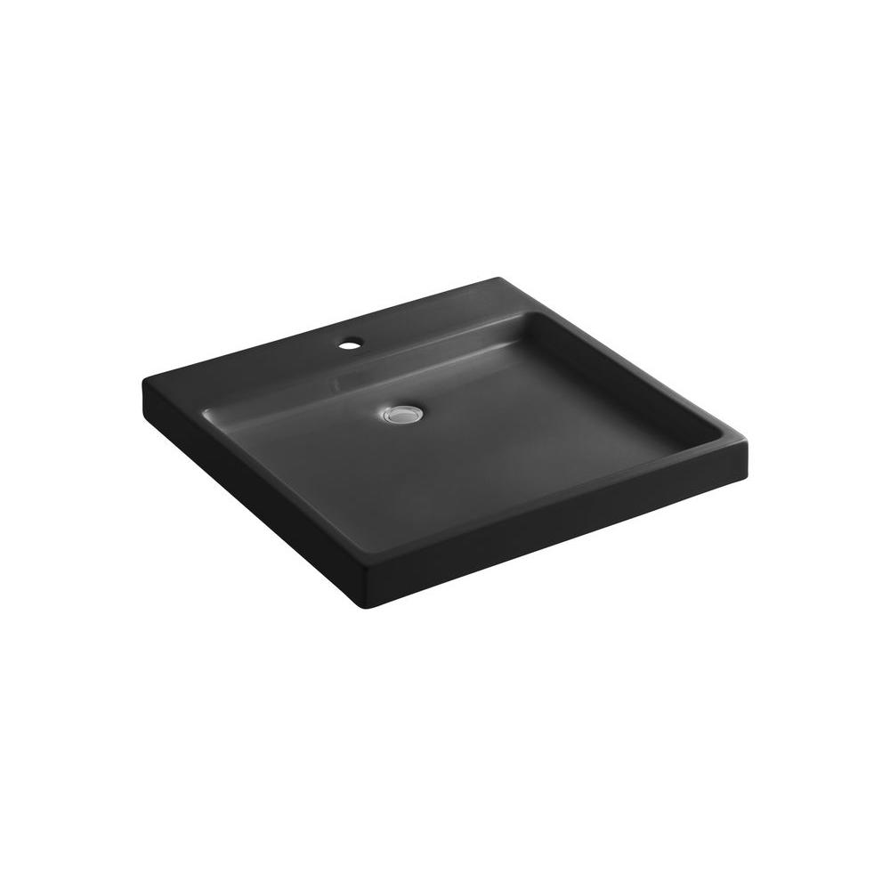 ... K 5373 0 Kohler Vox Vitreous China Rectangular Vessel Bathroom  Household Sinks Intended For 17 ...