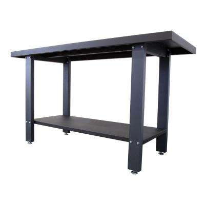 59 in. Industrial Strength Steel Work Bench