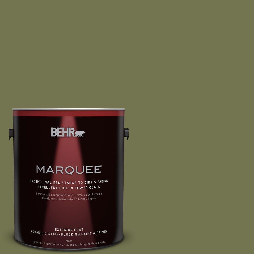 BEHR MARQUEE 1-gal. #S360-6 Secret Meadow Flat Exterior Paint