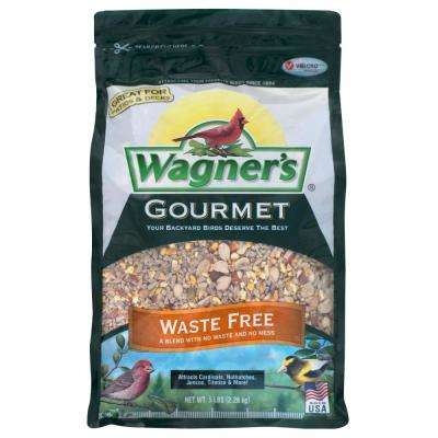 Gourmet 5 lb. Waste Free Wild Bird Food