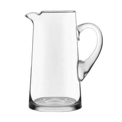 Cantina 80 oz. Clear Glass Pitcher