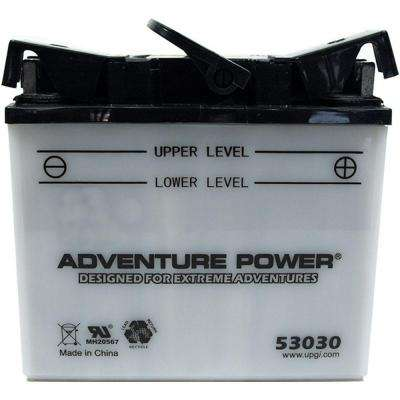 Conventional Wet Pack 12- Volt 30 Ah Capacity J Terminal Battery