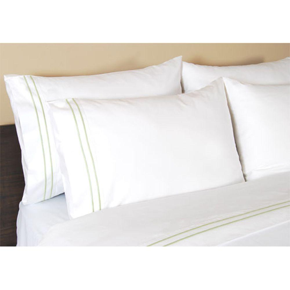 Home Decorators Collection Embroidered Cottage Hill King Pillowcases