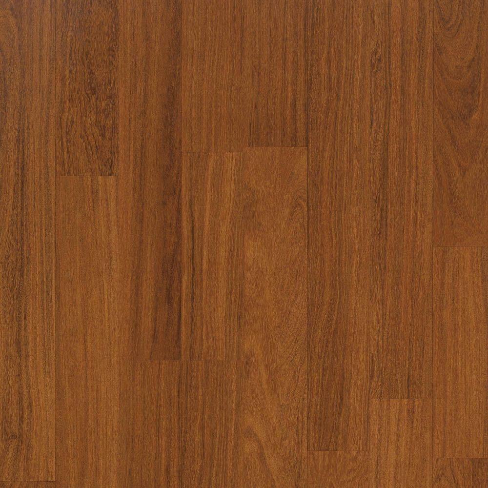 Tortola Teak Laminate Flooring - 5 in. x 7 in. Take Home Sample