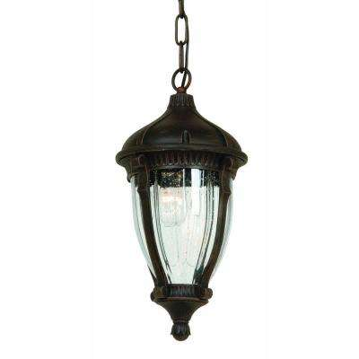Kahley 4-Light Oil Rubbed Bronze Outdoor Pendant