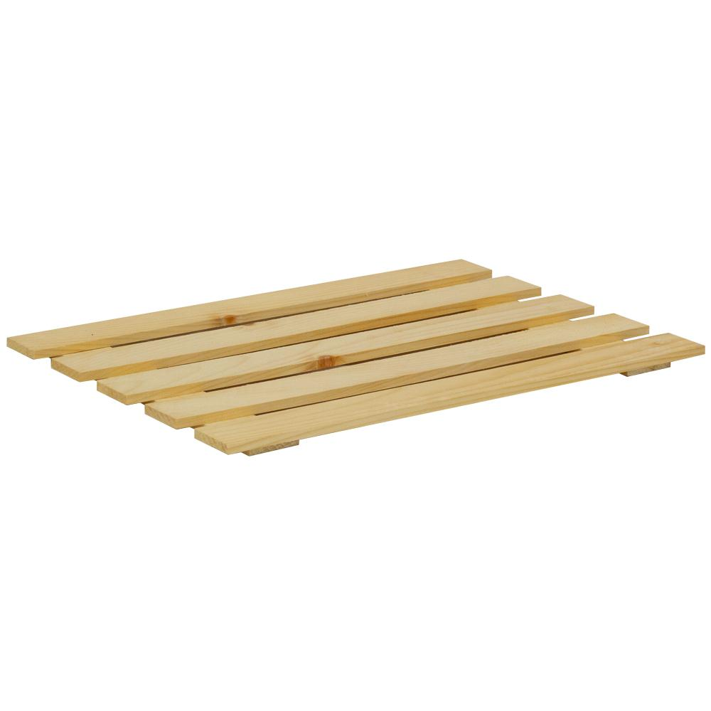 Crates & Pallet 18 in. x 3 in. Natural Pine Crate Lid