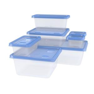 Ziploc Variety Pack Containers With One Press Seal 7 Pack 650872
