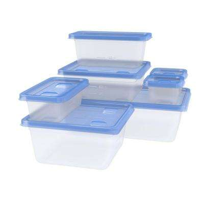 Variety Pack Containers with One Press Seal (7-Pack)