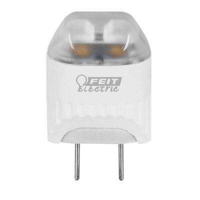 20W Equivalent Warm White Wedge LED G8 2-Pin Base Light Bulb