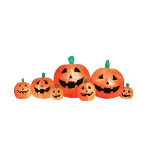 Airflowz 8' Pumpkin Patch Inflatable Halloween Decoration