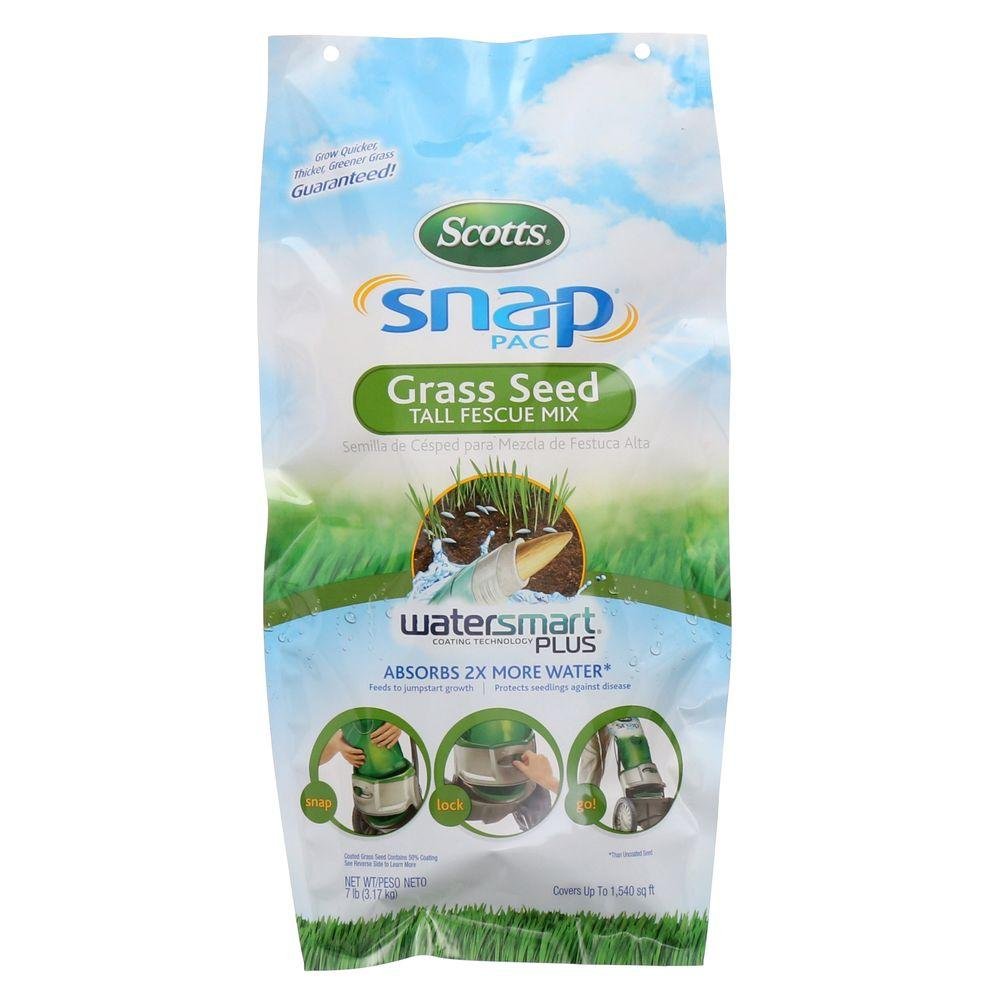 Scotts Snap Pac 7 lb. Tall Fescue Grass Seed